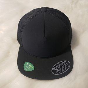 Port Authority Foam Outdoor Black Trucker Hat